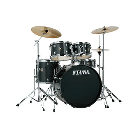 TAMA RM52KH6C-CCM Rhythm Mate 5-Piece Drums w/Hardwares & Cymbals, Charcoal Mist