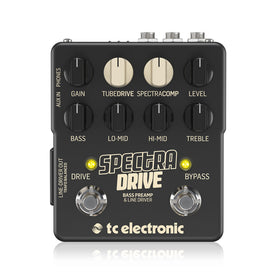 TC Electronic SpectraDrive Bass Preamp Overdrive Effects Pedal