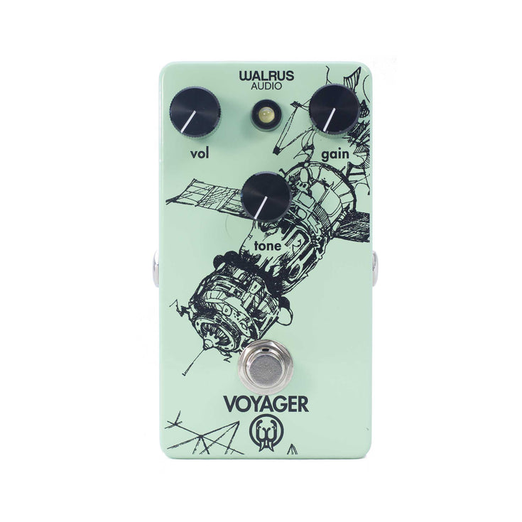 Walrus Audio Voyager Preamp & Overdrive Guitar Effects Pedal