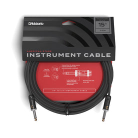 D'Addario PW-AMSG-15 American Stage Instrument Cable, 15 feet