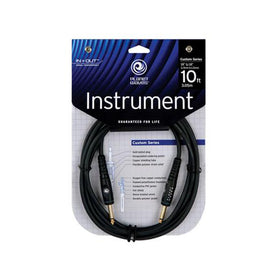 D'Addario Planet Waves PW-G-10 10' Instrument Cable, Straight
