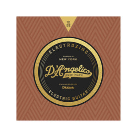 D'Angelico Electrozinc Strings, Jazz 12-52, Light-Wound Third String