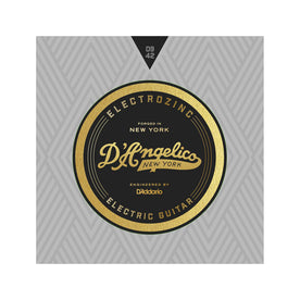 D'Angelico Electrozinc Strings, Rock 9-42, Plain Third String