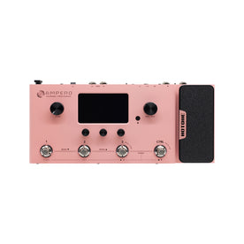 Hotone Limited Edition MP-100 Ampero Multieffects Pedal, Pink