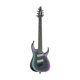 Ibanez Axion Label RGD71ALMS-BAM 7-String Electric Guitar, Black Aurora Burst Matte