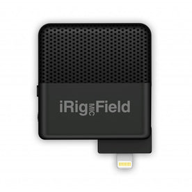 IK Multimedia iRig Mic Field Audio-Video Digital Stereo Field Microphone For IOS Devices