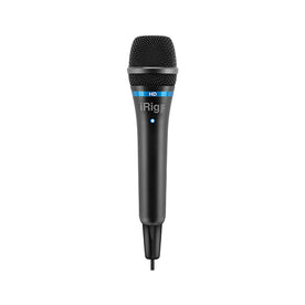 IK Multimedia iRig Mic HD Microphone, Black