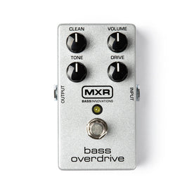 MXR M89 Bass Overdrive Guitar Effects Pedal