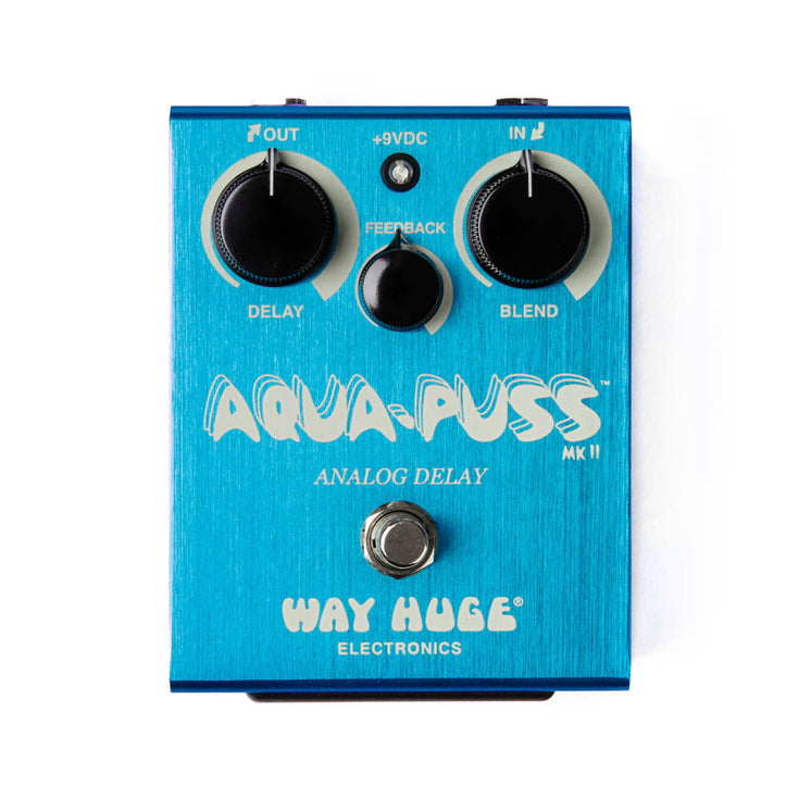 Way Huge WHE701 Aqua-Puss Analog Delay Guitar Effects Pedal