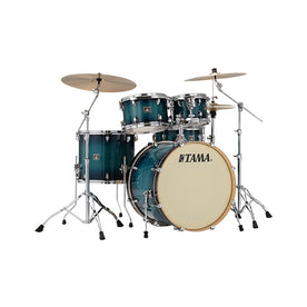 TAMA CL50RS-BAB Superstar Classic Maple 5-Piece Drum Shell Kit, Blue Lacquer Burst