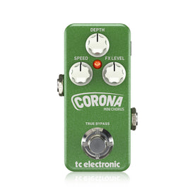 TC Electronic Corona Mini Chorus Guitar Effects Pedal (T33-960807001)