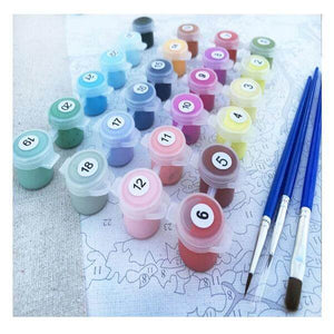 Arrival Of Spring Paint By Numbers Kit