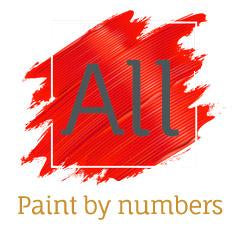 Magnificent Abstract Painting of Wild Deer - Paint by Numbers Kit