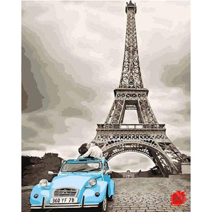 Paint By Numbers - Eiffel Tower Paris