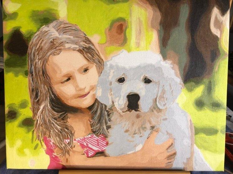 Custom Paint By Numbers Kit Your Photo To Paint By Numbers