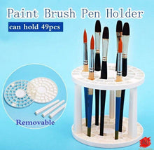 Load image into Gallery viewer, 10 Pcs Nylon Headed Brush Set and 49 Brush Holder
