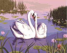 Load image into Gallery viewer, Beautiful Painting of Pet Ducks In Pond