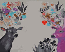 Load image into Gallery viewer, Weird Painting of Deer Man - Animals DIY Kits