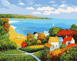 Amazing Painting of Countrysides
