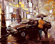 Load image into Gallery viewer, Amazing Painting of Street Car Parking