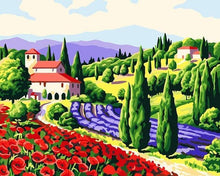 Load image into Gallery viewer, 20+ Framed and UnFramed Countryside, Vintage, Old City Paintings