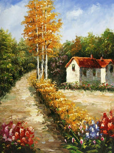 countryside painting by numbers