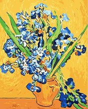 Load image into Gallery viewer, Lovely Painting of Flower's Vase with Yellow Background\