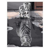 Load image into Gallery viewer, Creative Painting of Future Reflection