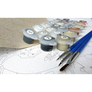 Artistic OWL Painting DIY with Painting Kit