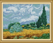 Load image into Gallery viewer, 20 Paint by Number Paintings Framed and UnFramed - Paint by Numbers