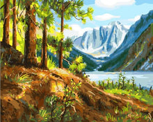 Load image into Gallery viewer, Beautiful Painting of Green Valley
