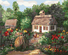 Load image into Gallery viewer, Stunning Scenery of Cottage Among The Flowers