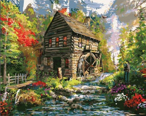 Amazing Scenery of Cottage In Heaven Woods