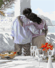 Load image into Gallery viewer, A Romantic Break Fast-DIY Painting