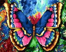 Load image into Gallery viewer, Eleganti Painting of Colorful Butter Fly - DIY Painting