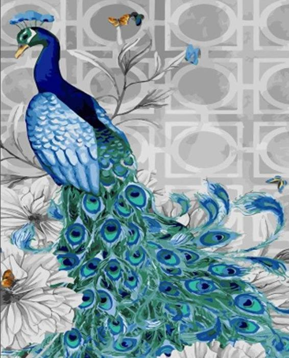 Painting of Bird Of Romance