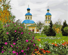 Load image into Gallery viewer, Beautiful Russian Blue Dome's Church