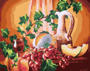 Ingredients of Perfect Wine Painting