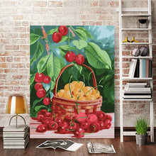 Load image into Gallery viewer, Painting of Gift of Cherry's Basket