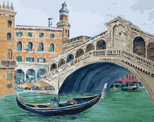 A Historical Painting of Venice