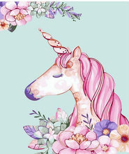 Load image into Gallery viewer, Unicorn PBN