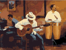 Load image into Gallery viewer, Beautiful Painting of Jazz Music Club - DIY Painting