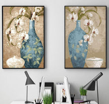 Load image into Gallery viewer, Stunning Painting of Blue Vase