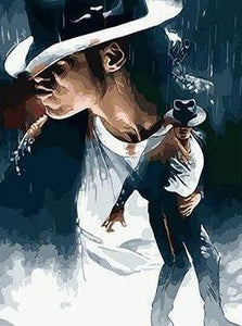 Painting Of King Of Pop