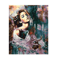 Load image into Gallery viewer, Beautiful Painting of Beauty and the Beast