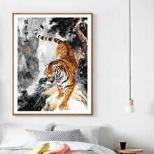 Load image into Gallery viewer, Roaring Tiger