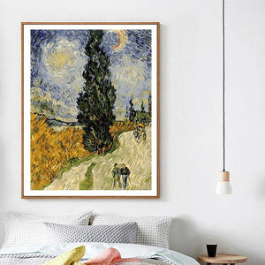 Vincent Van Gogh Painting