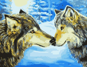 Wolves's Bond Painting