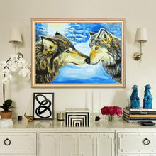Load image into Gallery viewer, Wolves's Bond Painting