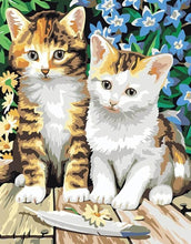 Load image into Gallery viewer, Adorable Painting of Kittens